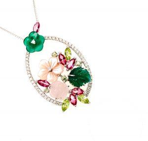Shiv Jewels Jewellery - Floreal pendant